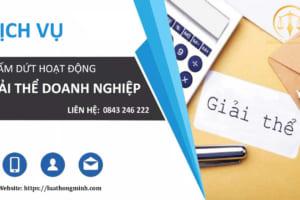 Dịch vụ giải thể công ty uy tín số 1 tại Thanh Xuân - Luật Hồng Minh