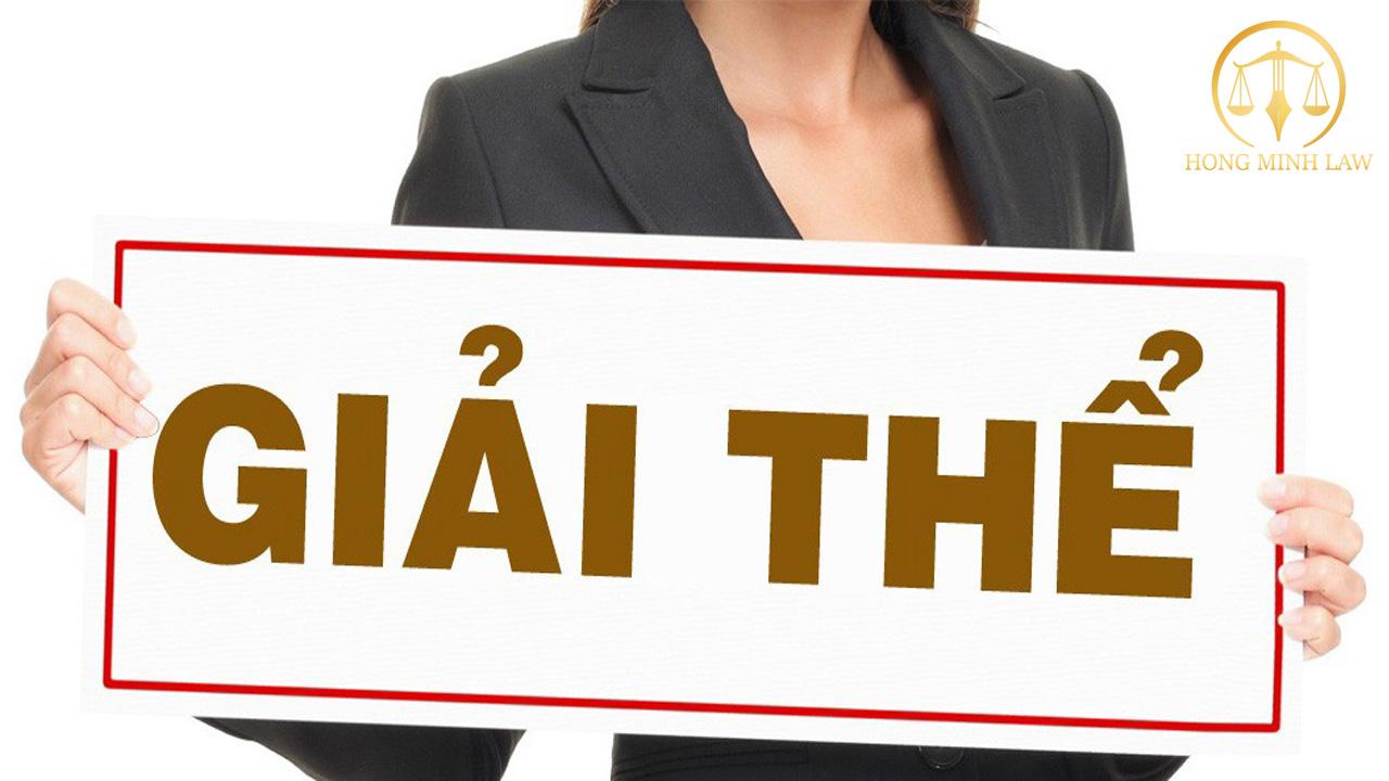 Dịch vụ giải thể công ty uy tín số 1 tại Hà Đông - Luật Hồng Minh