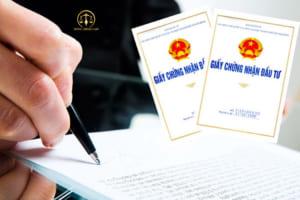 Cấp giấy chứng nhận đăng ký đầu tư