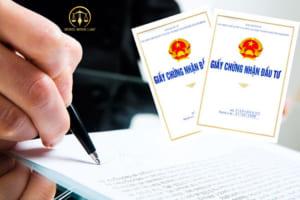 Xin giấy chứng nhận đăng ký đầu tư