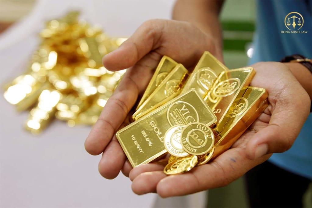 Điều kiện kinh doanh vàng