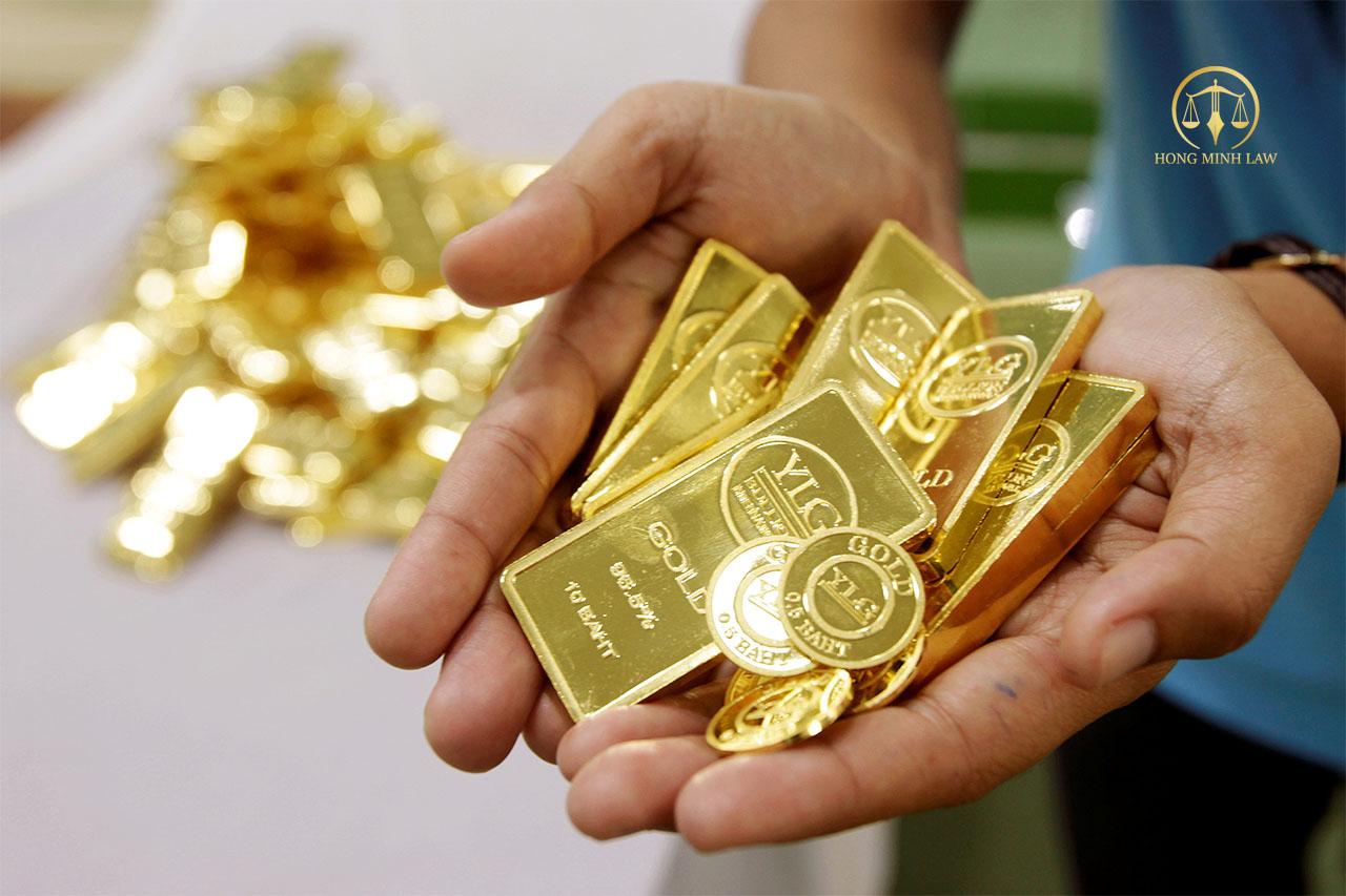 Điều chỉnh giấy phép kinh doanh vàng